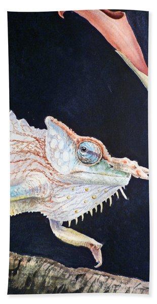 Chameleon Hand Towel