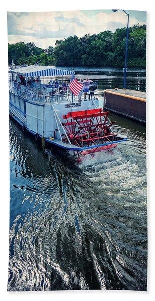 Champlain Canal Patriot Hand Towel