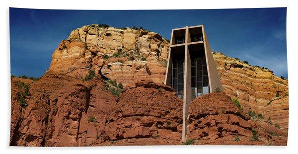 Chapel Of The Holy Cross Bath Towel