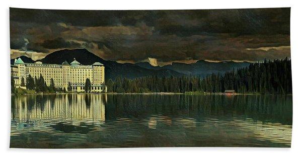 Chateau Lake Louise Hand Towel