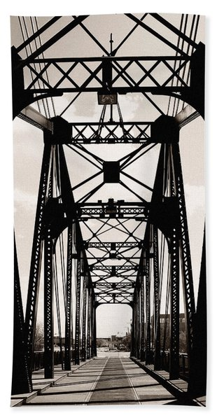 Cherry Avenue Bridge Hand Towel