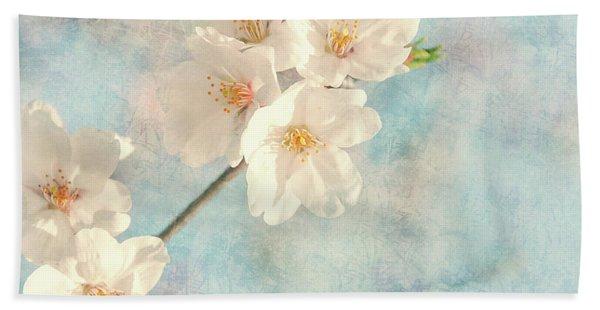 Cherry Tree Blossom Hand Towel