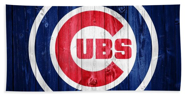 Chicago Cubs Barn Door Bath Towel