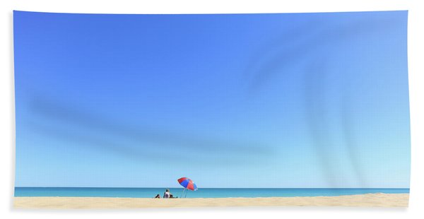 Chilling At Cable Beach Hand Towel