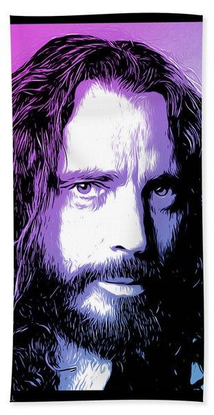 Chris Cornell Tribute Bath Towel