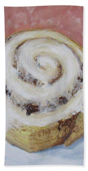 Cinnamon Roll Hand Towel