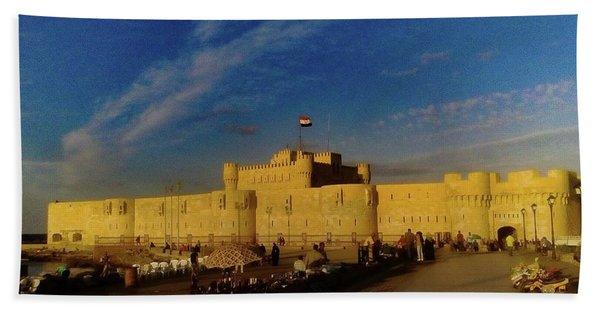 Citadel, Alexandria, Egypt Hand Towel