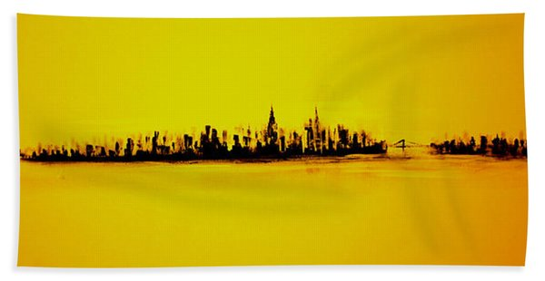 City Of Gold Hand Towel