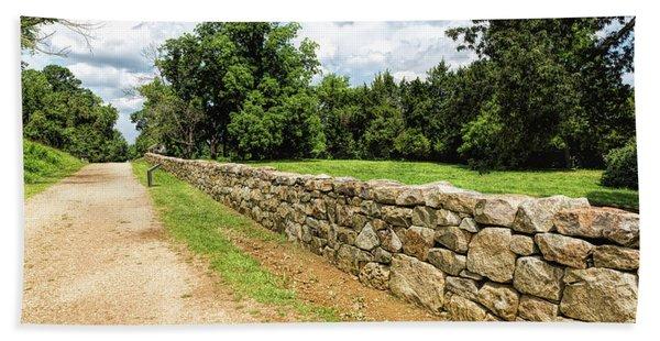 Civil War Battle Of Fredericksburg Hand Towel