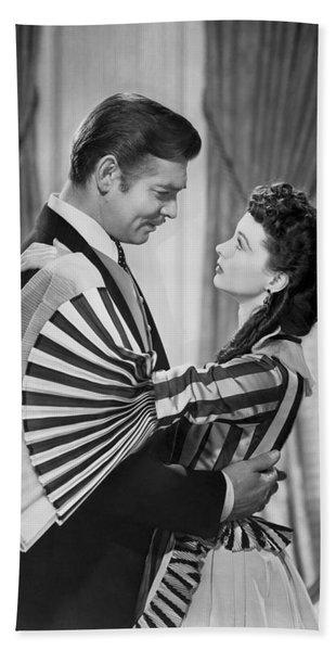 Clark Gable And Vivien Leigh Bath Towel