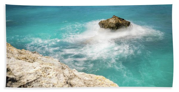 Cliff Views In Negril Hand Towel