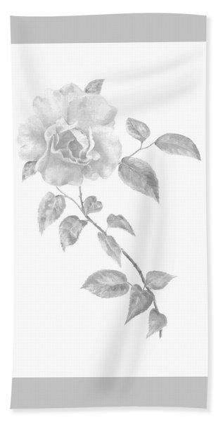 Climbing Rose II Hand Towel