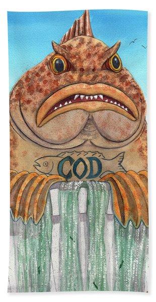 Cod Dam Bath Towel