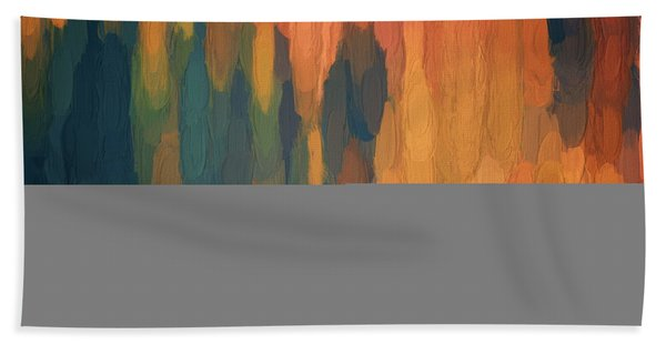 Color Abstraction L Sq Hand Towel