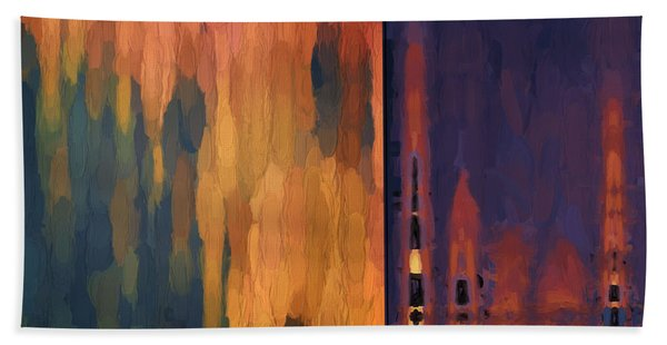 Color Abstraction Liv Hand Towel