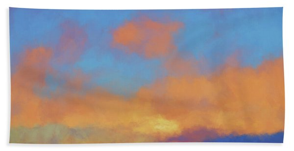 Color Abstraction Lvii Bath Towel