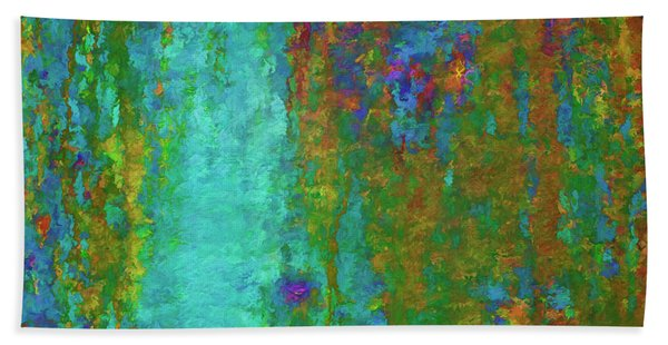 Color Abstraction Lxvii Hand Towel