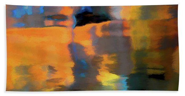 Color Abstraction Lxxii Hand Towel