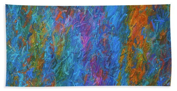 Color Abstraction Xiv Hand Towel