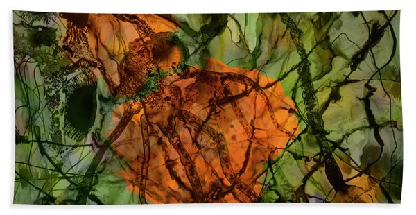 Color Abstraction Xx Hand Towel