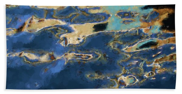 Color Abstraction Xxxvii - Painterly Hand Towel