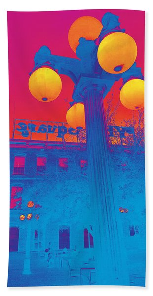 Colors Of Ybor City Bath Towel