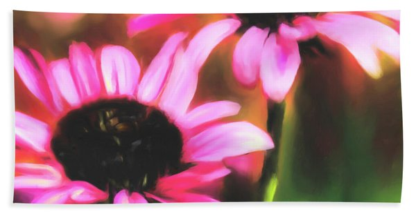 Coneflowers Hand Towel