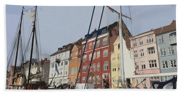 Copenhagen Memories Bath Towel