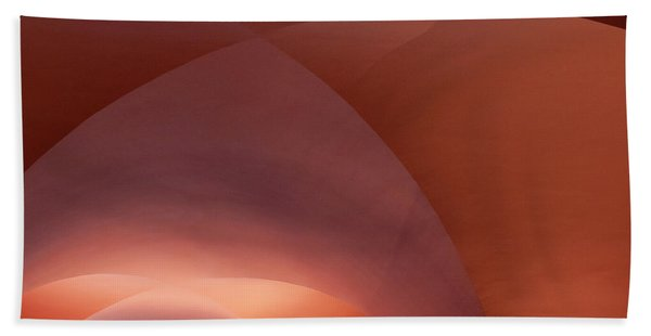 Bath Towel featuring the photograph Coral Arched Ceiling by Lorraine Devon Wilke