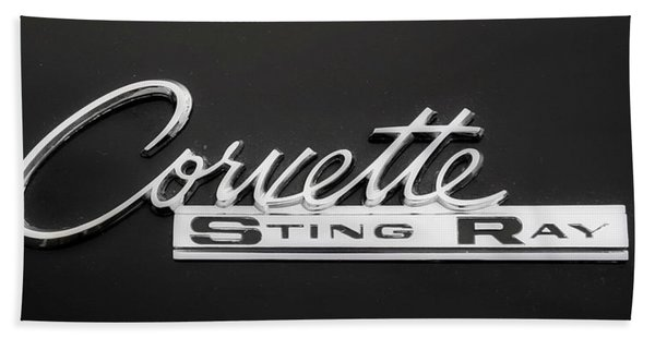 Corvette Sting Ray  Bath Towel