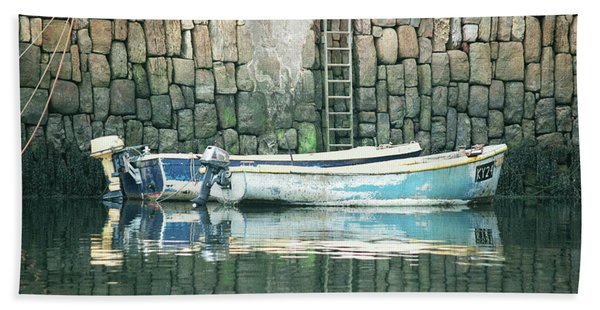 Crail Harbour Bath Towel