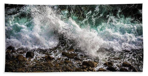 Crashing Surf Hand Towel