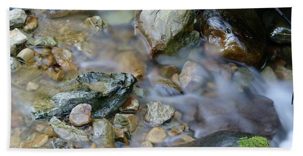 Creek On Mt Tamalpais Bath Towel