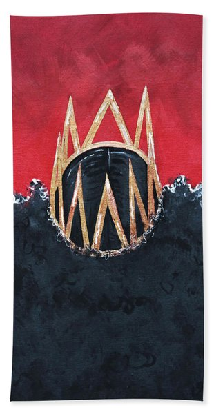 Crowned Royal Bath Towel