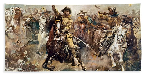 Cuba: Rough Riders, 1898 Bath Towel