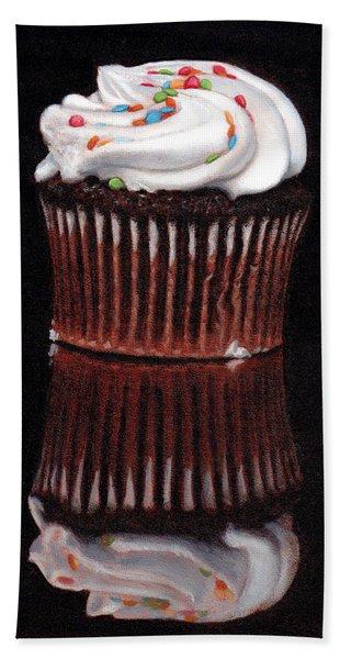 Cupcake Reflections Hand Towel
