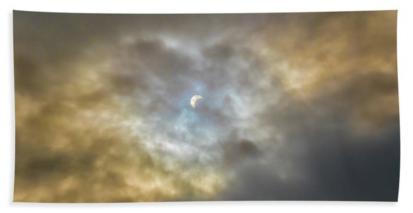 Curtain Of Clouds Eclipse Hand Towel