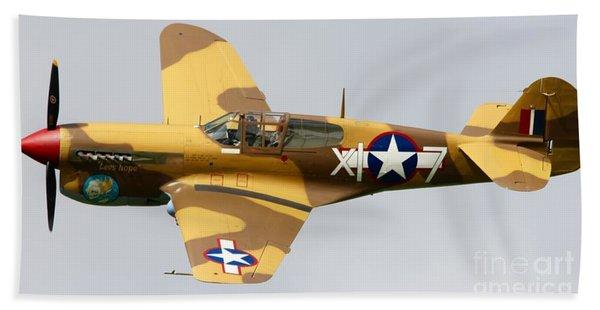 Curtiss P 40 Warhawk Bath Towel
