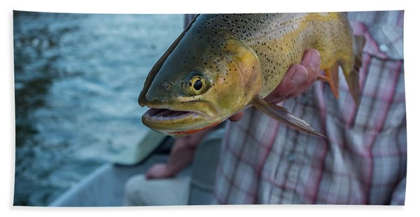 Cutthroat Trout Hand Towel