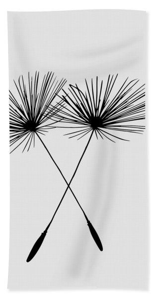 Dandelion Duo  Bath Towel