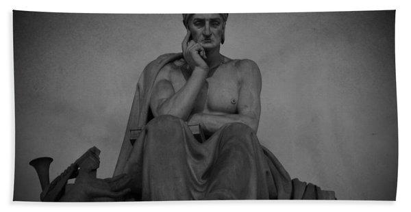 Dante Alighieri Bath Towel