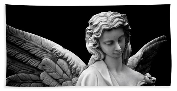Dark Angel Bath Towel