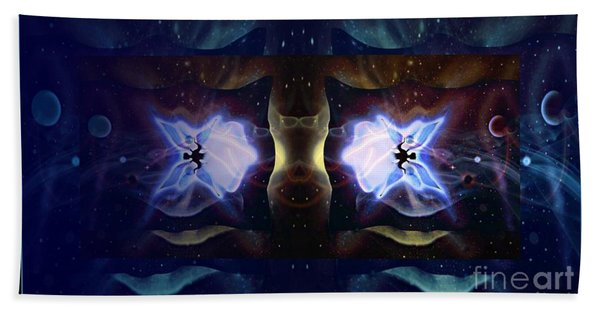 Dark Fairy Bath Towel