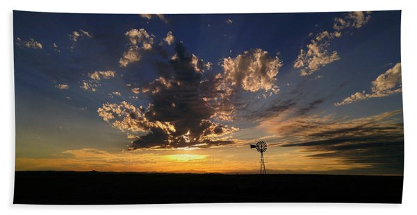 Day Is Done Hand Towel