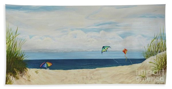 Day On Beach Hand Towel