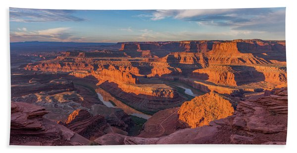 Dead Horse Point Sunrise Panorama Hand Towel