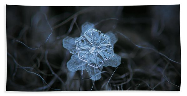 December 18 2015 - Snowflake 2 Bath Towel