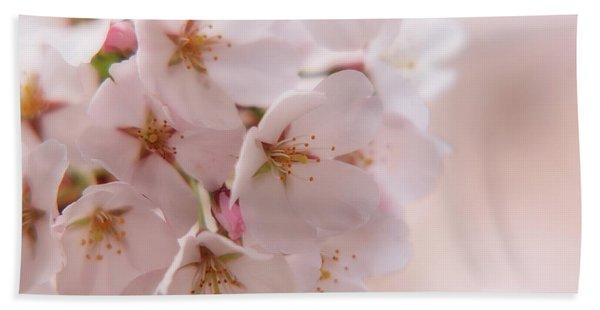 Delicate Spring Blooms Bath Towel