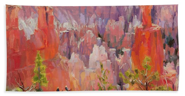 Descent Into Bryce Hand Towel