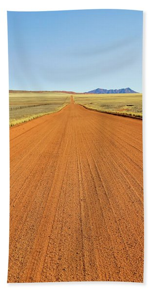 Desert Road Bath Towel